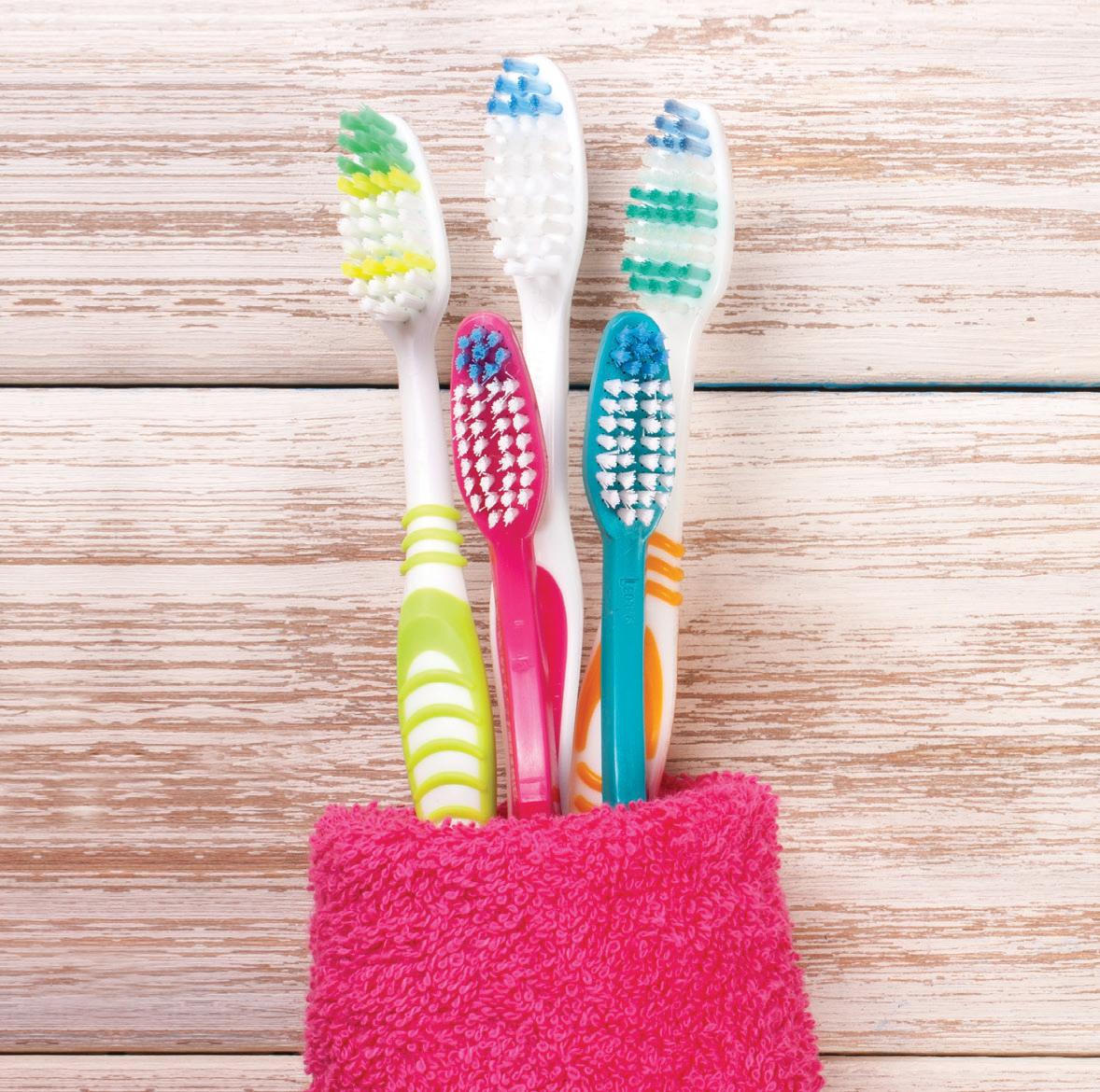 Cuide su cepillo dental