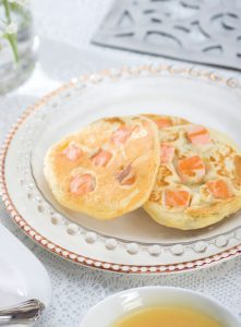 Revista Maxi Especial Mini Pancake de papa con salmon y eneldo