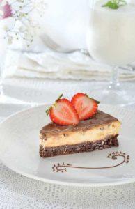 Revista Maxi Canape dulce de cheesecake