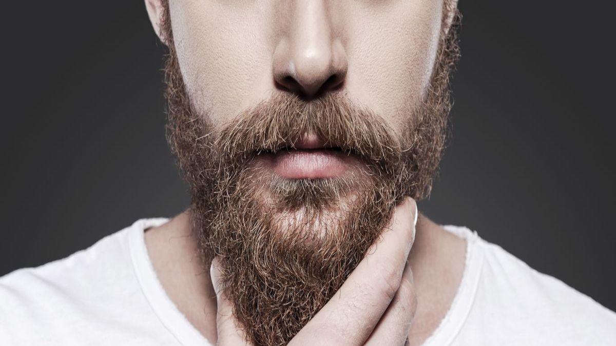 Cuide su rostro con barba