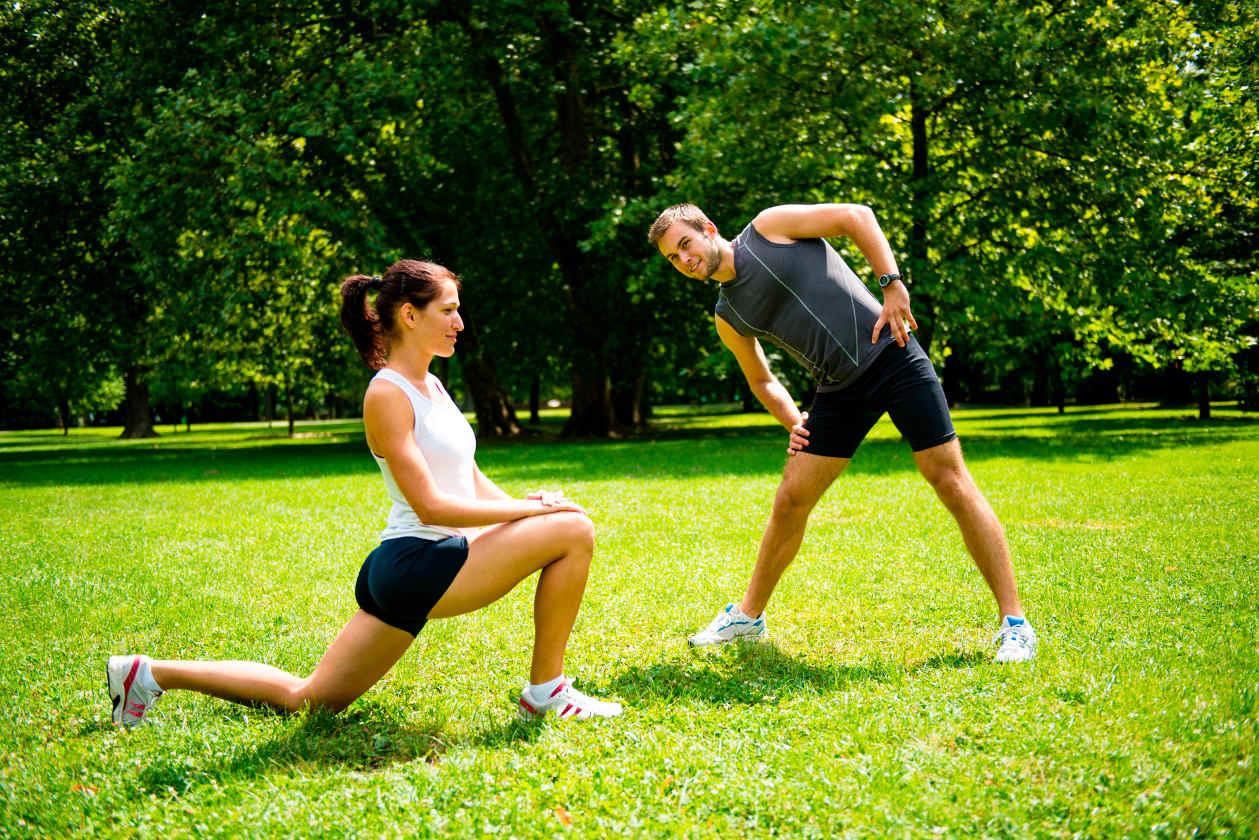 Pulmones, corazón y músculos sanos