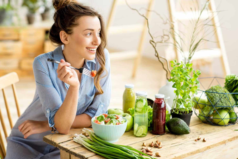 Salud pulmonar con dieta variada