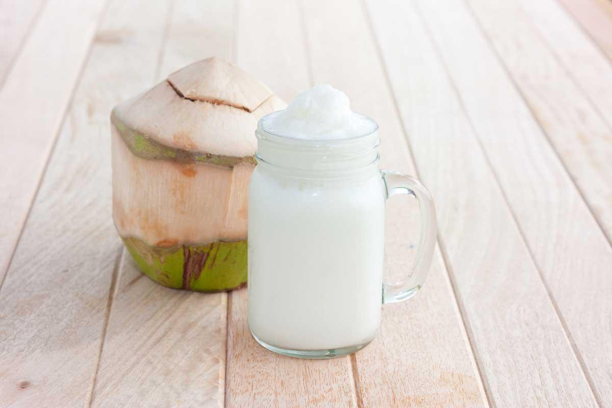 Batido de coco