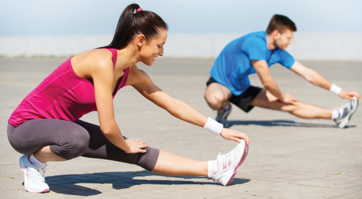 Cuerpo flexible y músculos sanos