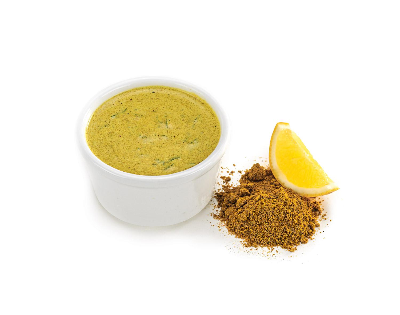 Marinada de coco al curry
