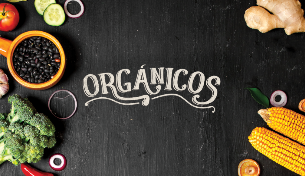 Orgánicos, una gran alternativa