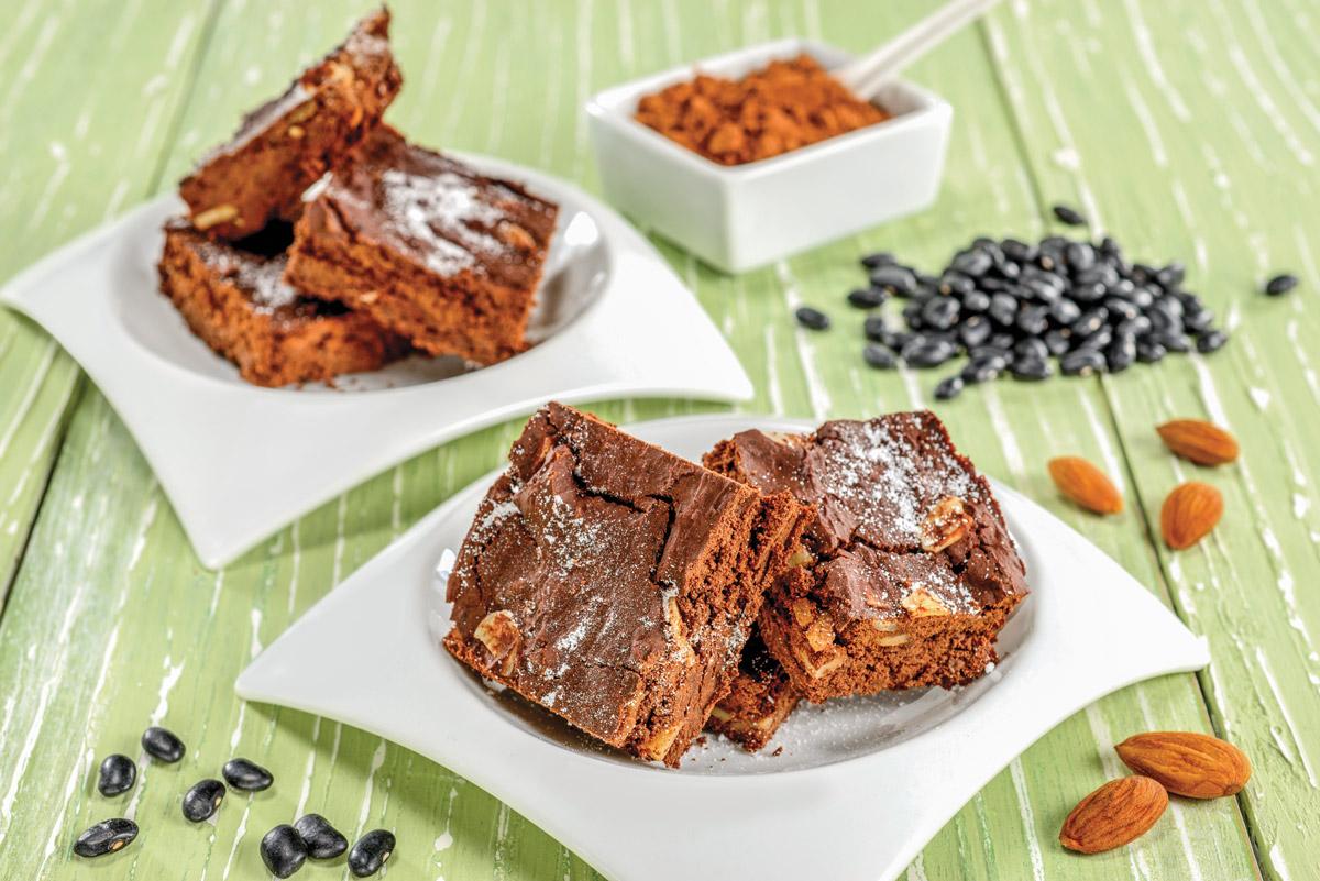 Brownies de fréjol