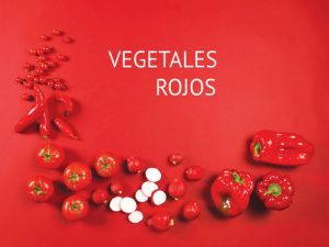 Vegetales rojos revista maxi