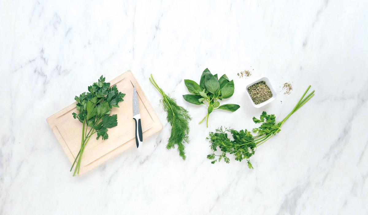 Hierbas que dan sabor y aroma