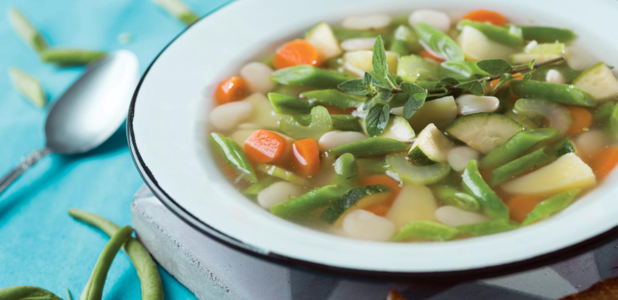 Sopa de verduras - Revista Maxi