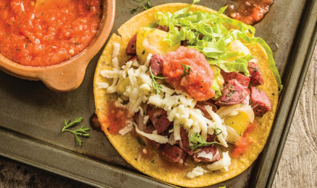 Tacos de Chorizo revista Maxionline