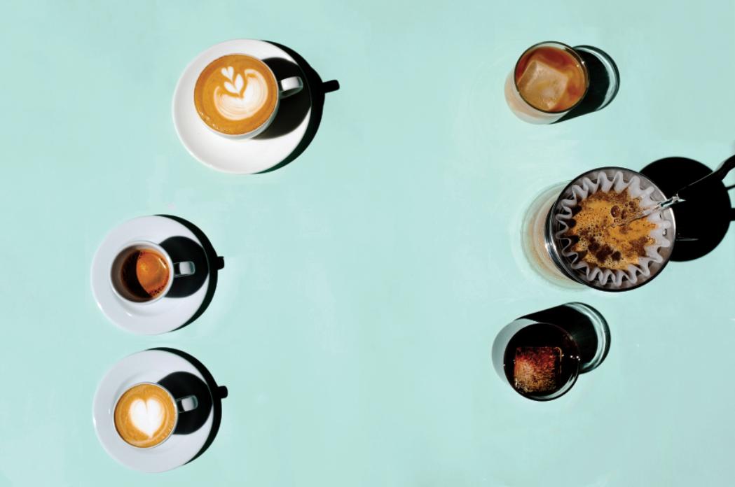 El placer de un buen café
