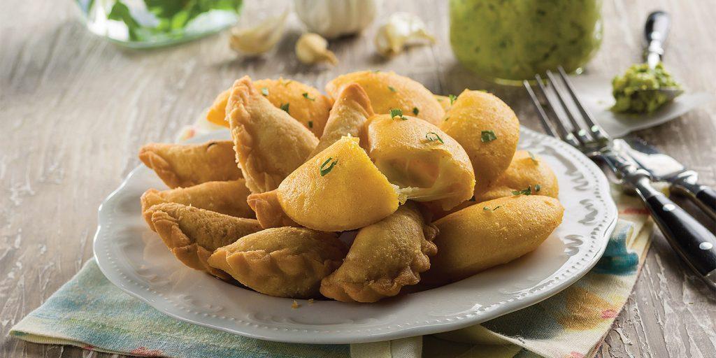 Empanadas de Mejido y Empanadas de Maíz
