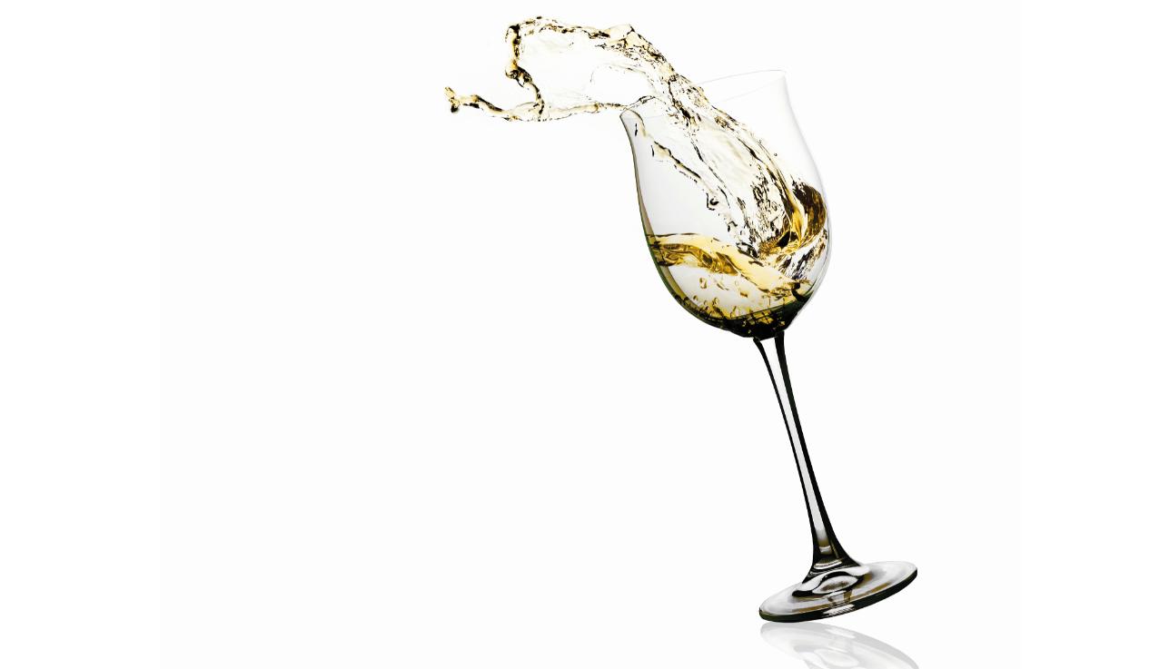 El placer del vino blanco