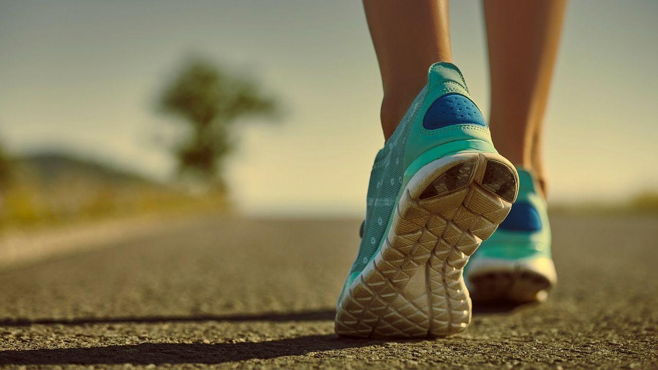 Queme calorías al caminar