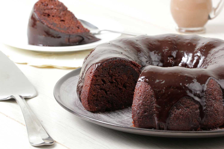 Torta de chocolate mojada