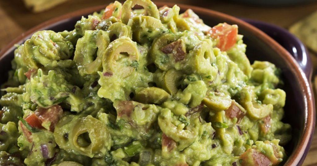 Guacamole-a-la-oliva Especial de guacamole