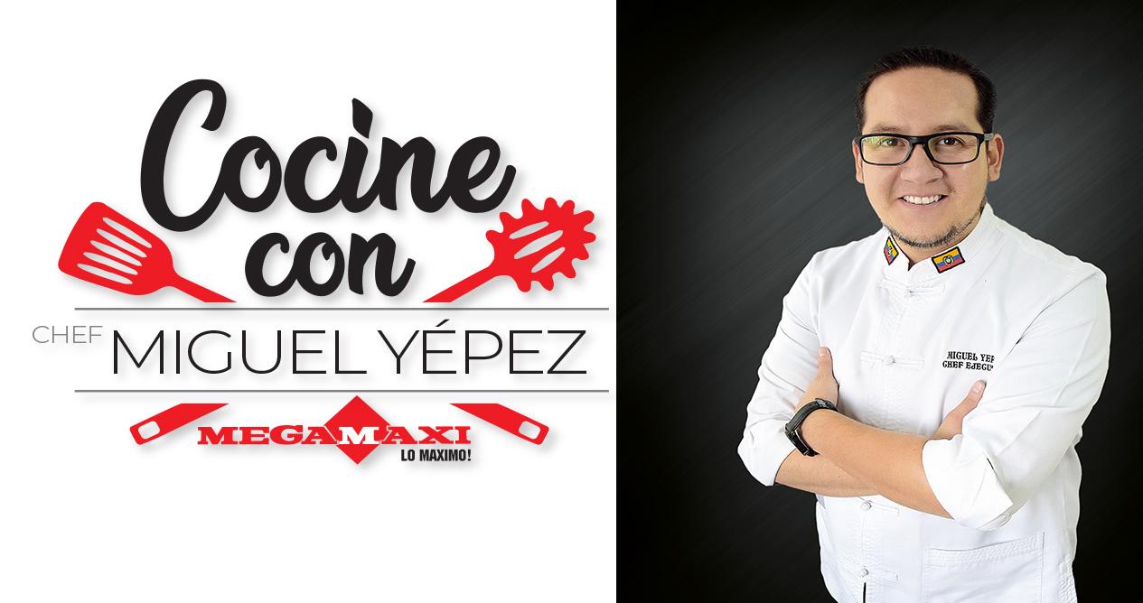 Curso de cocina navideño con Miguel Yépez