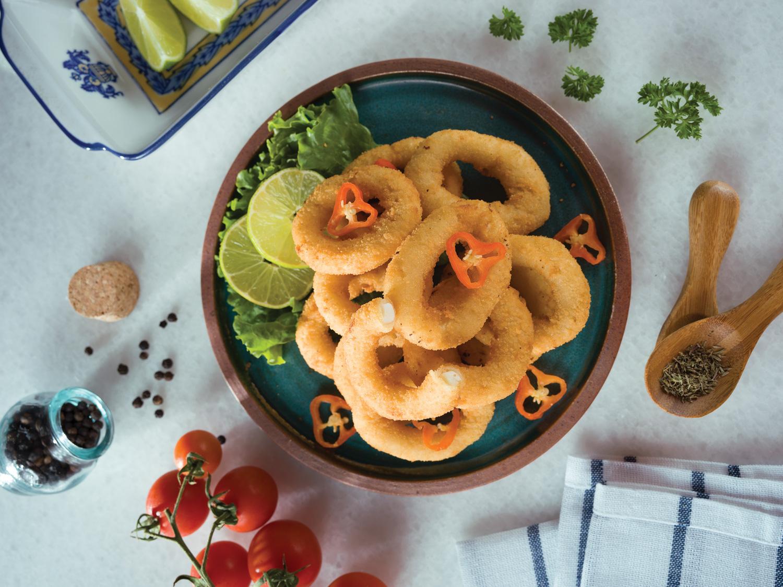 Calamares rebozados (España)
