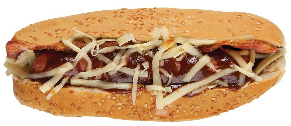 Hot dog bbq Revista Maxi