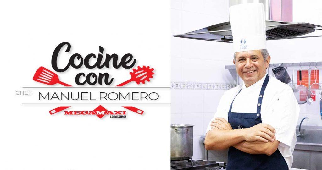 Cocine con Manuel Romero Curso de cocina Guayaquil Megamaxi