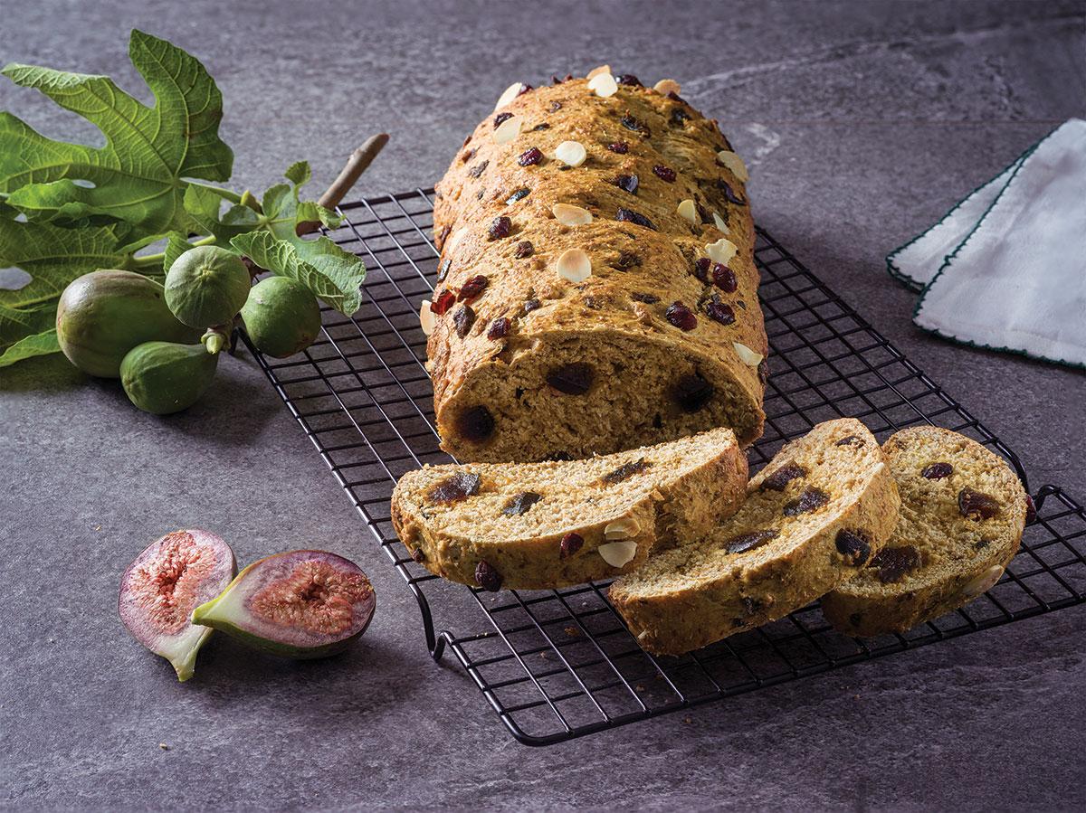 Pan de higos y frutos secos