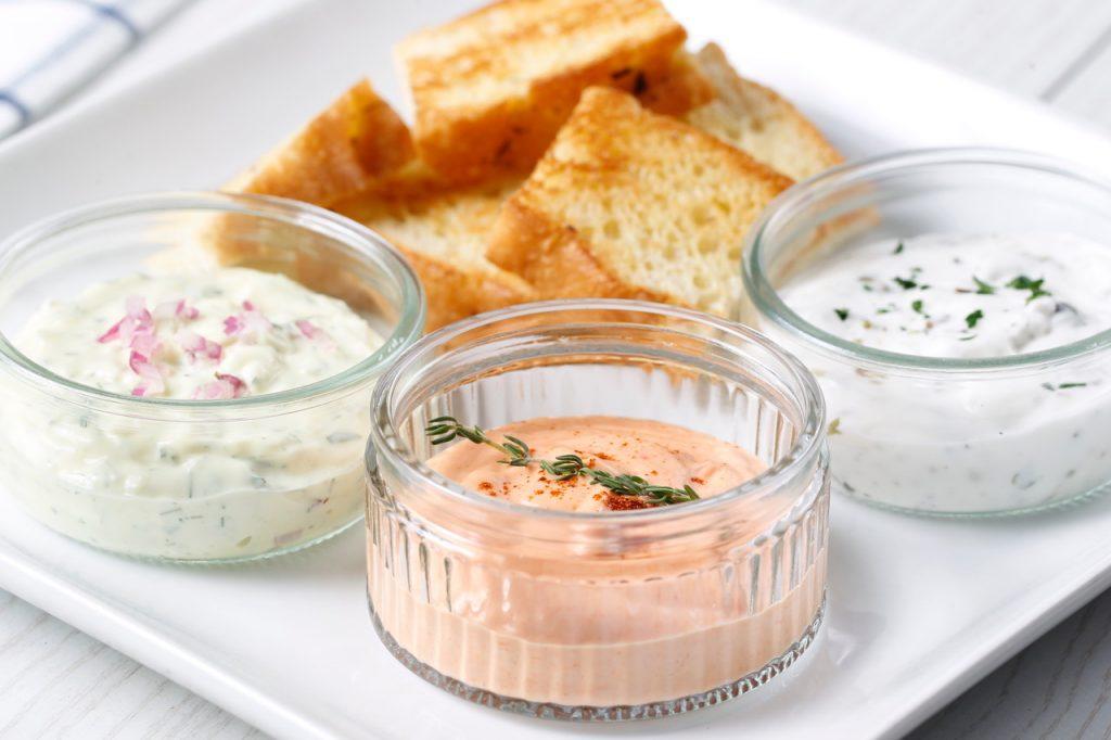 Trío de mayonesas
