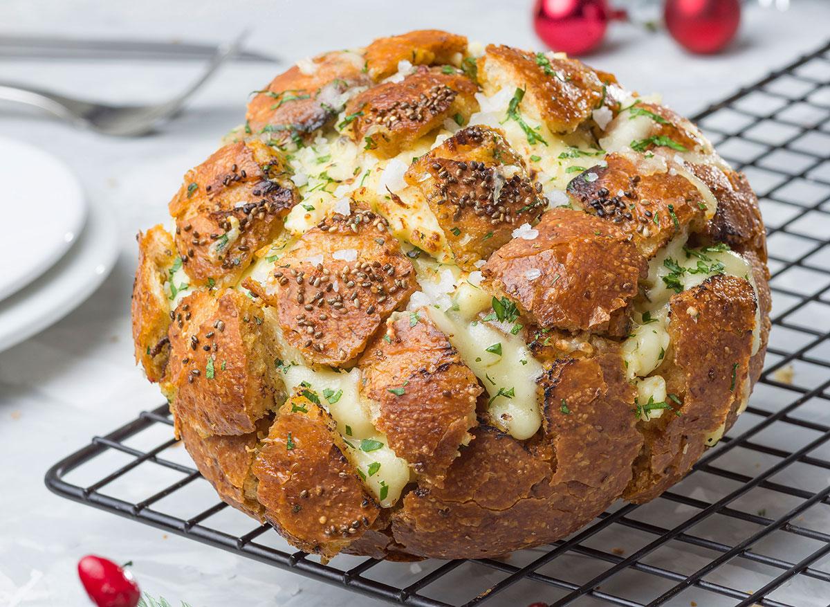 Pan al horno con queso