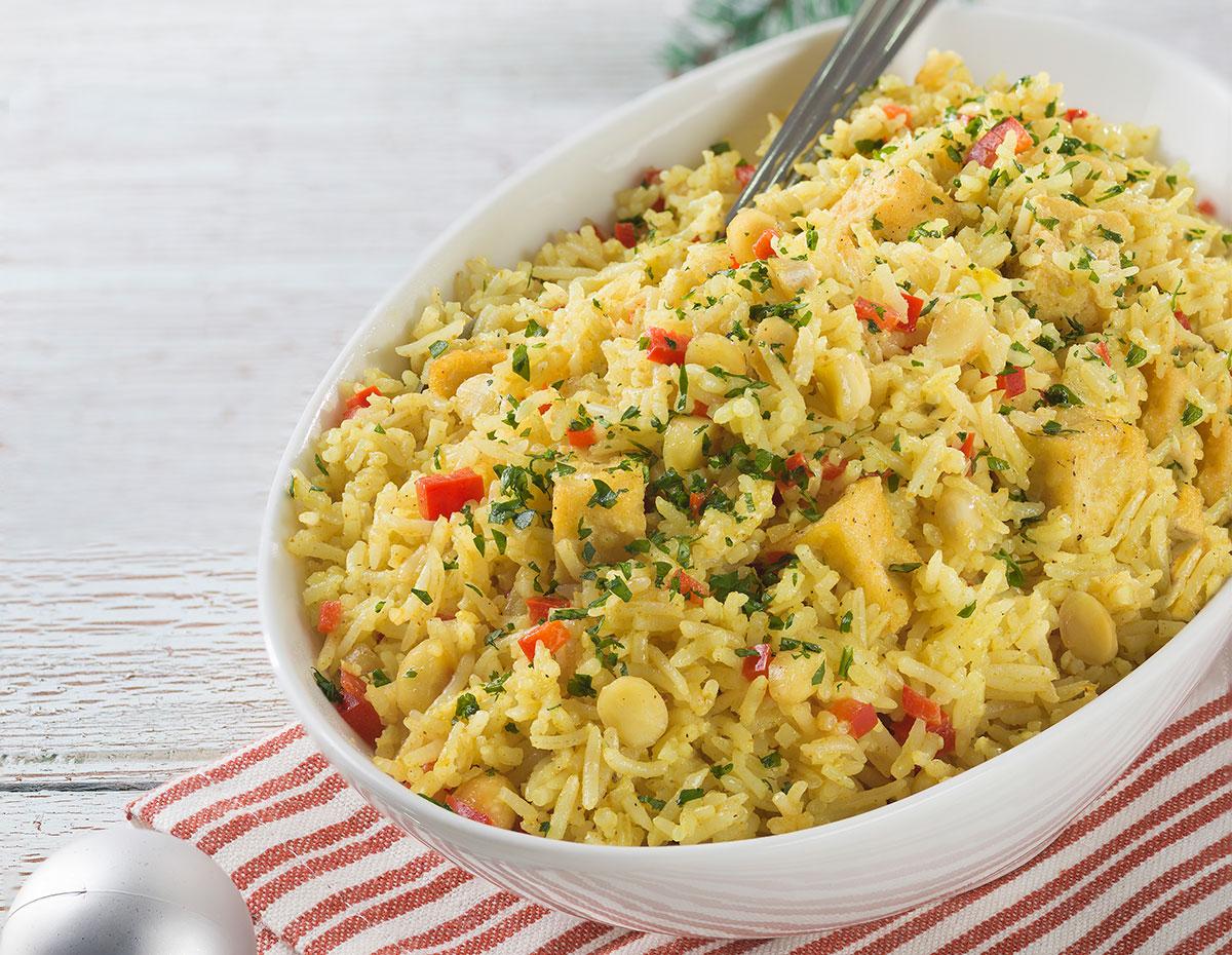 Curry navideño