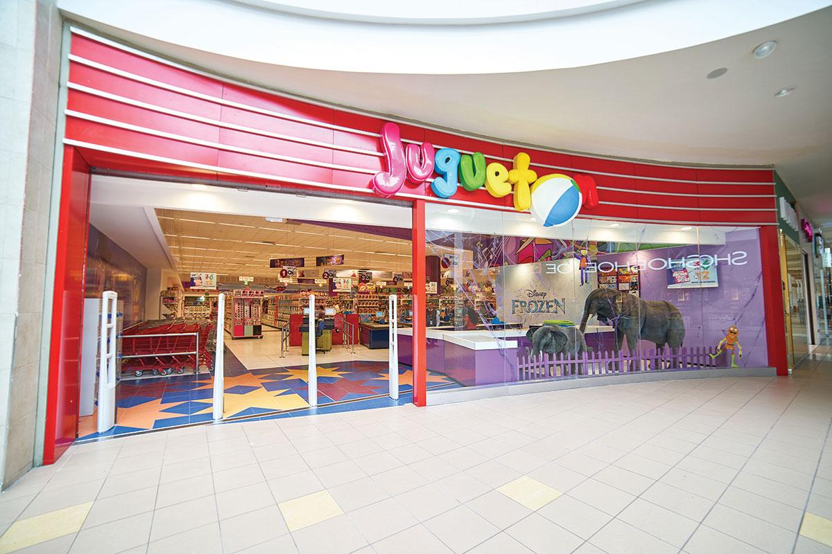 Juguetón Mall del Sur reabre sus puertas