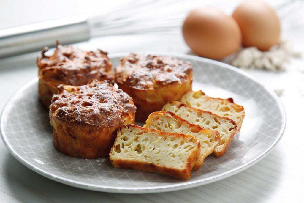 muffins alcachofas