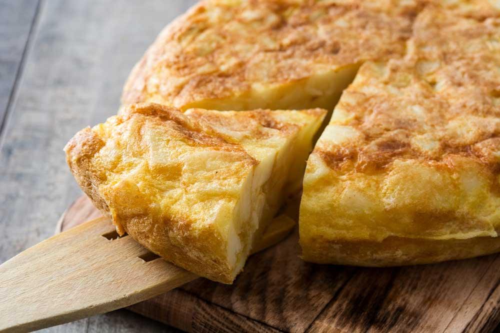 Tortilla espanola revista Maxi