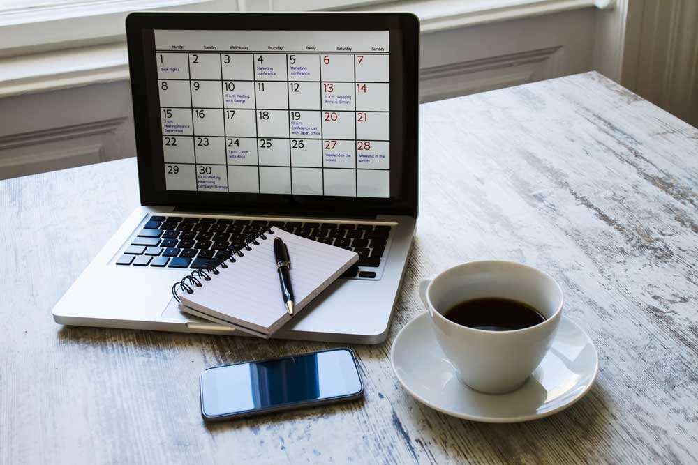 itinerario de trabajo revista Maxi