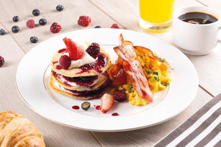 Desayuno navideno al estilo New York