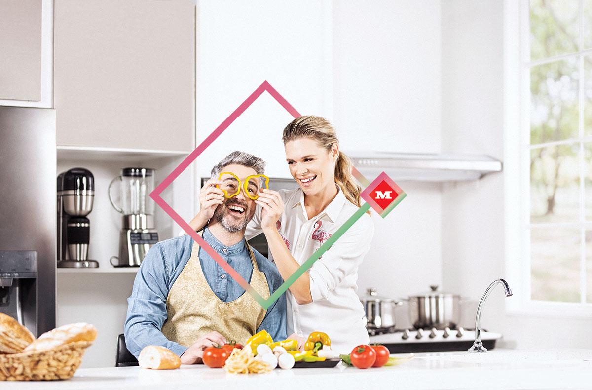 Revista Maxi - cocinar en pareja