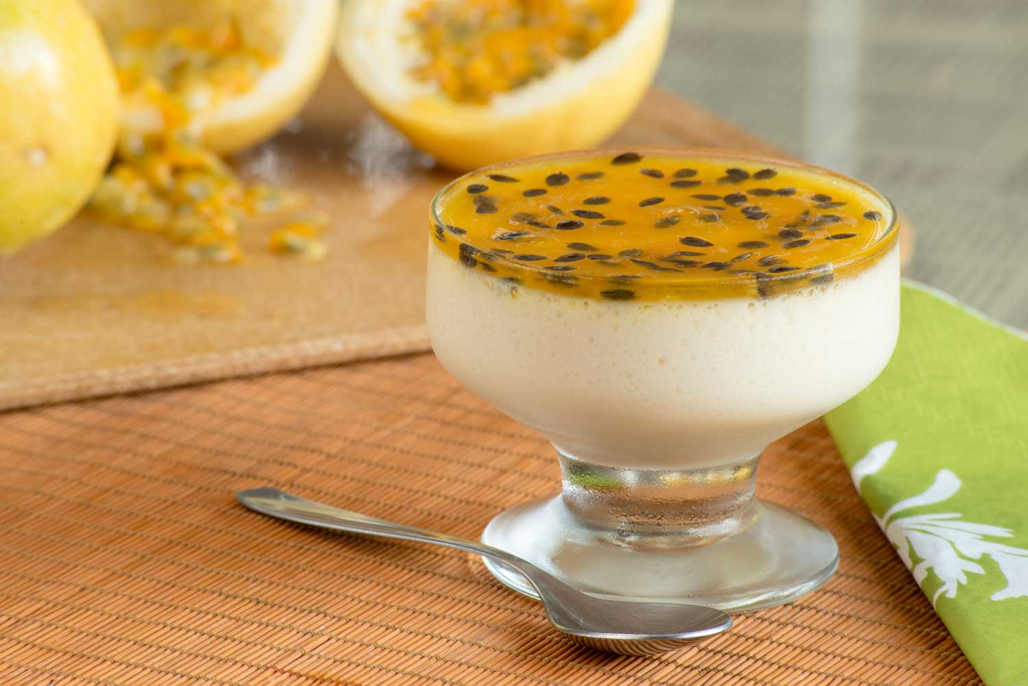mousse de granadilla revista Maxi