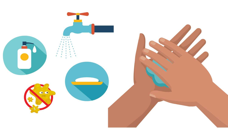 ¿Sabe cómo lavarse las manos correctamente?
