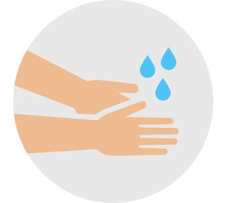Lavar las manos