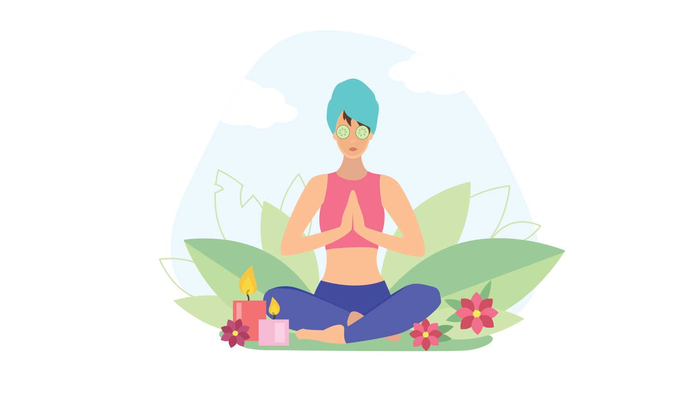 Yoga facial antiarrugas