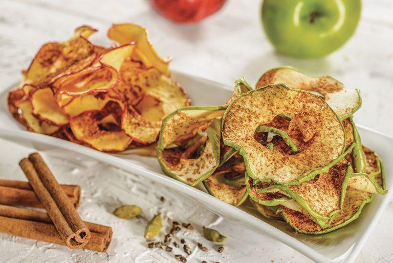 Revista Maxi - Chips de manzana