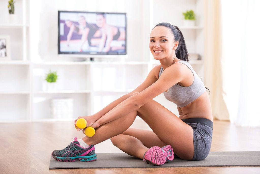 Revista Maxi - Fitness en el hogar