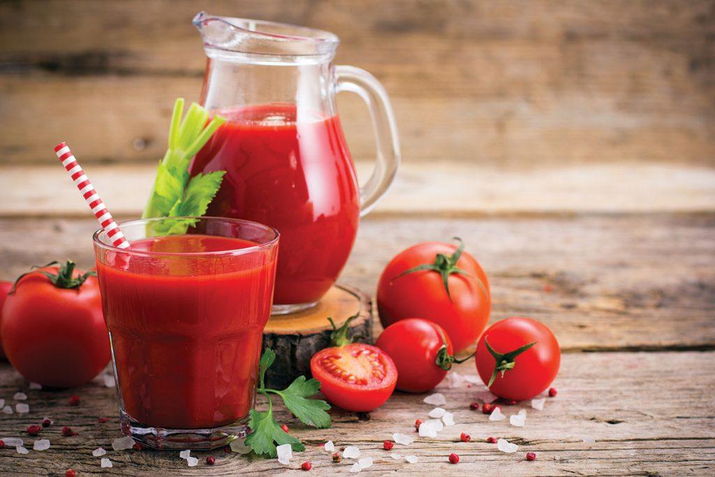 Revista Maxi - Jugo de tomate riñon