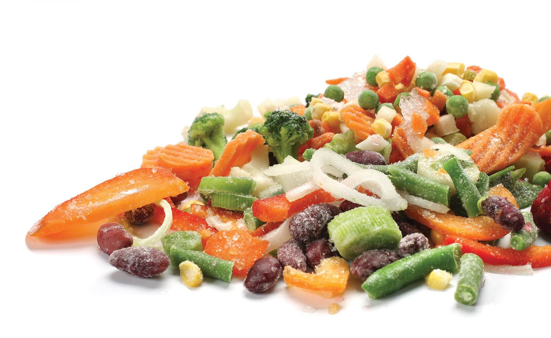 Verduras congeladas revista maxionline