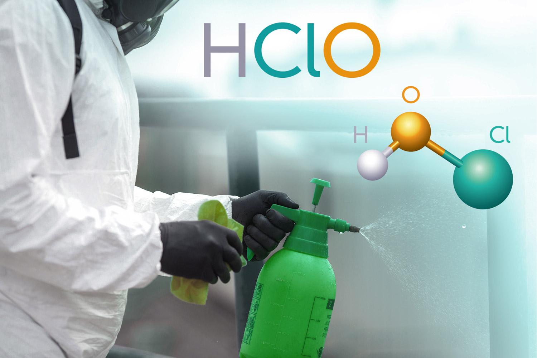 Ácido hipocloroso, efectivo para eliminar patógenos