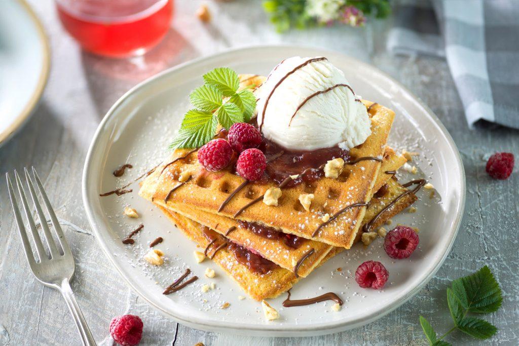 Waffle Dulce Belga De Bruselas