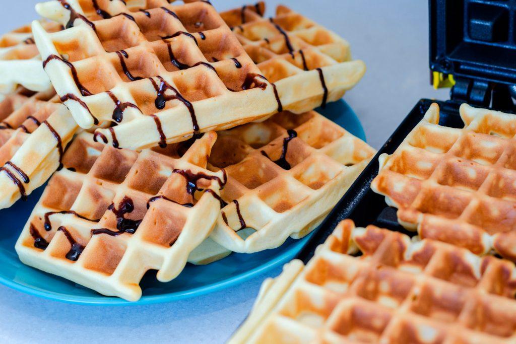 Waffles, delicias de sal y dulce