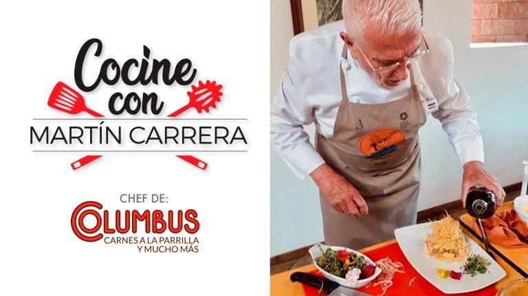 Cocine con Martín Carrera