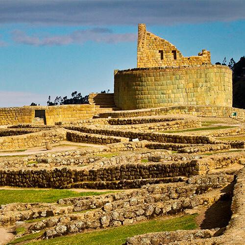 Las ruinas de Ingapirca