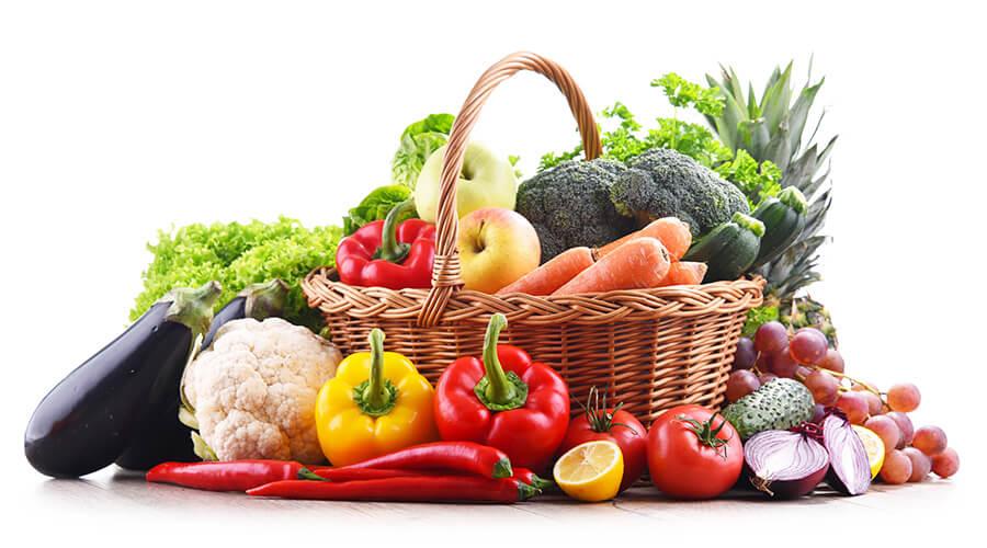 Incluya frutas y verduras en la alimentación habitual