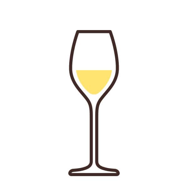 Copa para vino blanco afrutado